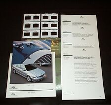 Original JAGUAR Media Information, Press Kit 2001 Slides Lot of 7+ Pcs. Vintage