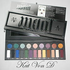 Genuine KAT VON D MetalMatte Eyeshadow Palette BNIB Limited Edition