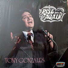 Tony Gonzales Rise Again Gospel LP Album Rialto CA