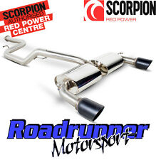 SFDS069C SCORPION FOCUS ST 225 TURBO EXHAUST CAT BACK NON RES BLACK TAILS