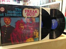 The MOTHERS of INVENTION Frank ZAPPA freak x 2 lp  on verve V6 5005 2 very rare