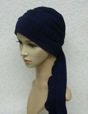 Chemo head scarf, chemo head wear, chemo hat with ties, viscose jersey