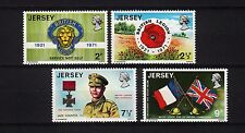 102253/ Jersey 1971 - Mi 53/6 - British Legion - M€ 6,00 - **