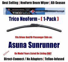 Super Premium NeoForm Wiper Blade 1-Pack fits 1992-93 Asuna Sunrunner 16170