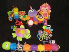 LAMAZE BABY TOY LOT SENSORY TUMMYTIME  HUGE BABY TOY LOT EMILY BUTTERFLY