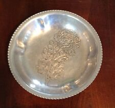 """Vintage Trade Continental Mark Hand Wrought Silverlook 783 Decorated Bowl 5.5"""""""