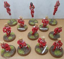 2002 Elf Bloodbowl 5th Edition Citadel PRO PAINTED TEAM FANTASY WOOD ELVES Elven