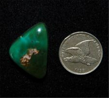 Turquoise King Natural Turquoise Cab from Battle Mountain, American Turquoise
