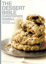 The Dessert Bible Hardcover 2000 Kimball, Christopher
