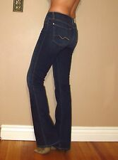 Seven 7 For All Mankind $189 Karah Fitted High Waist Bootcut Jeans RYCB Dark 28