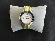 New Ladies / Girls No Bounderies Quartz Watch with a Colorful Band