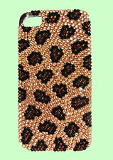 Authentic JIMMY CRYSTAL NEW YORK iPHONE 4 & 4S LEOPARD CASE MSRP $175