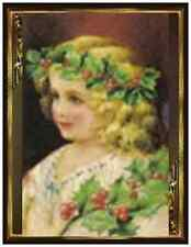 20 CHRISTMAS Angel HOLLY Greeting POSTCARDS Post Cards PRINTED US OR CANADA