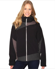 NWT Spyder Women's Black/Weld Crosshatch/Weld Lynk 3-in-1 Jacket Sz S, $279