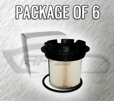 FUEL FILTER F55055C WITH CAP FOR FORD F250 F350 7.3L TURBO DIESEL - CASE OF 6