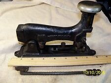 Antique Vintage SURE SHOT Stapler Cast Iron 1890's