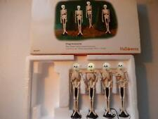 Department 56 - Halloween Skull Street Lamps #56.53079