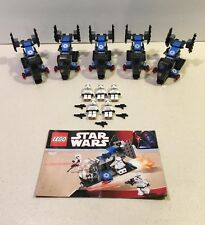 Lot of 5 Lego 7667 Star Wars Legends Imperial Dropship Stormtrooper 2008