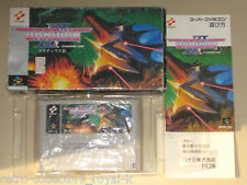 *Complete* Super Nintendo FAMICOM SNES SFC RARE Game GRADIUS III 3 NTSC-J Japan