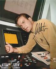 STAR TREK:WILLIAM SHATNER AUTOGRAPH PHOTO #6 FROM CREATION ENT