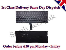 "Genuine Apple MacBook Air A1370 A1465 11"" UK Keyboard 2011 2012 with backlight"