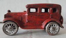 Vintage Cast Iron Toy Car Automobile