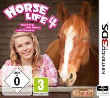 Nintendo 3DS Horse Life 4 Mein Pferd mein Freund mein Champion Neuwertig