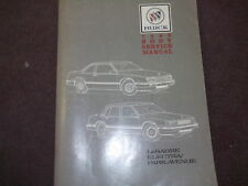 1989 Buick Lesabre Electra Park Avenue Service Repair Shop Workshop Manual OEM