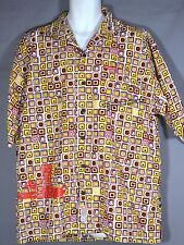 ECKO  Mens Button up Size XL Spider-Man  Shirt Short Sleeve