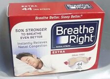 Breathe Right Nasal Strips EXTRA 44 Tan Strips  Nasal Congestion