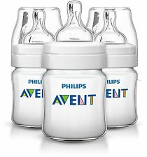 Philips Avent Classic + Anti-Cólico Alimentación Botella 125ml/4oz Triple