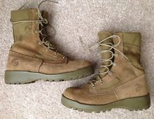 BELLEVILLE USMC MARINE CORPS COMBAT BOOTS, COYOTE TAN, SIZE 5 R, NEW NWOT