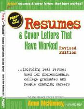 Resumes and Cover Letters That Have Worked by Anne McKinney (2012, Paperback)