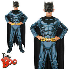 Batman Los 5 6 7 CHILDS superhéroe Fancy Dress Chicos Comic Libro Niño Traje Traje