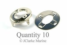 Standard - Turnbutton eyelet & washer common sense fastener boat canopy cover