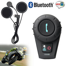 Motorcycle Communication System 500m Bluetooth Interphone 3 Riders 2 way Radio