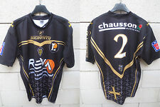 Maillot rugby SCA ALBI porté 2 Rugbytech LNR match worn shirt made in France XL