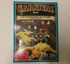 NEW Factory Sealed Carnival Game German version for Intellivision W/Box buckling