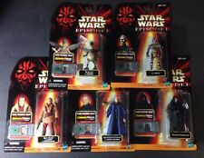 HASBRO STAR WARS EPISODE I COLLECTION 2 LOT OF 5 MOC ACTION FIGURES DISNEY S-38