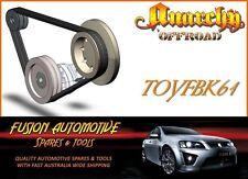 Fan Belt Kit for TOYOTA LANDCRUISER UZJ100 4.7L V8 32V EFI 2UZFE TOY61