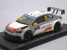 Citroen C-Elysee WTCC #33, MA Qing Hua 1st  2014 Moscow, Spark S2463  Resin 1/43