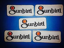 5 Lot Rare 1970's Pontiac Sunbird Collectable Car Club Jacket Hat Patches Crests