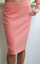 MAX MARA Peach Virgin Wool Skirt, size 10 USA, 12 GB,40 D, 42 F,44 I  NEW