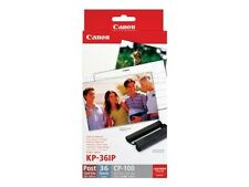 Canon KP-36IP Ink Cartridges with 36 Sheets of Paper for Canon Selphy CP 910