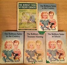 Bobbsey Twins At Cherry Corners & Treasure Hunting & At School & In The Country