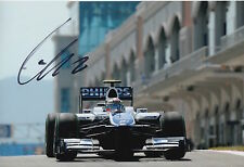 Nico Hulkenberg Hand Signed 12x8 Photo AT&T Williams.