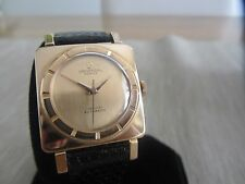 "Ultra Rare Universal Geneve squared  Rose Gold 18k for ""Freccero"""