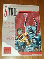STRIP #6 BRITISH MAGAZINE 28 APRIL 1990 MARSHAL LAW^