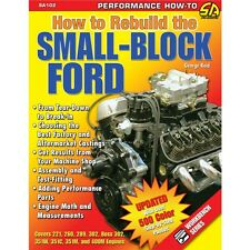 SA102 How To Rebuild The Small Block Ford Book Assembly Break In 289 302 351w