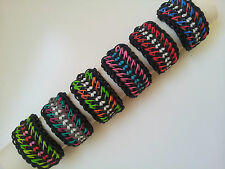 Rainbow Loom Rubber Band Bracelet - Galaxy 2, Pick or Custom Made